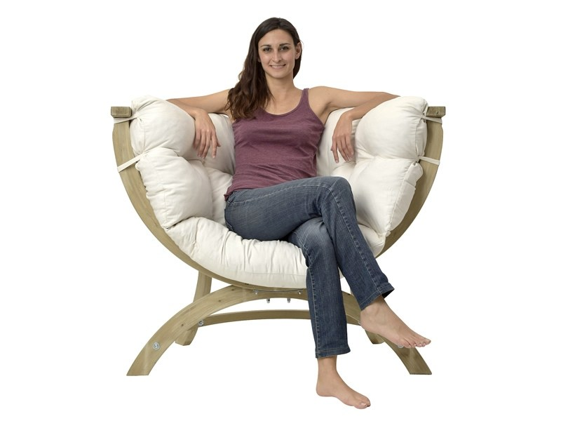 Fotel drewniany