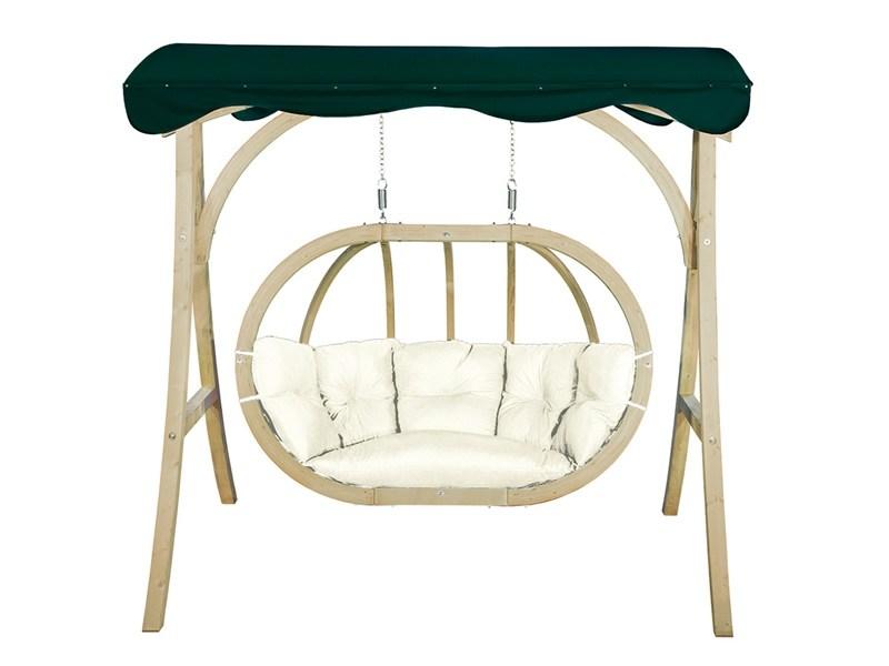 Stojak do dwuosobowego fotela drewnianego