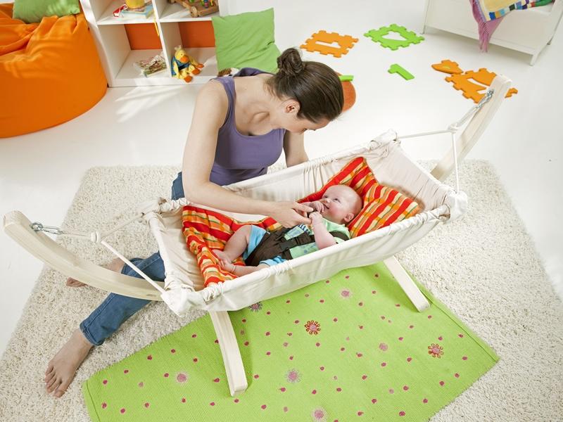 Stojak pod hamak niemowlęcy