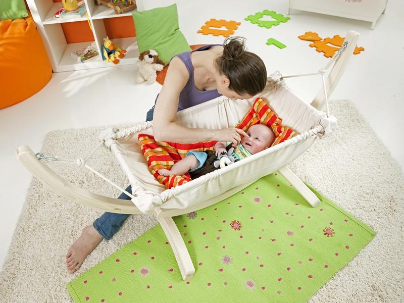 Podszyty koc do hamaków niemowlęcych