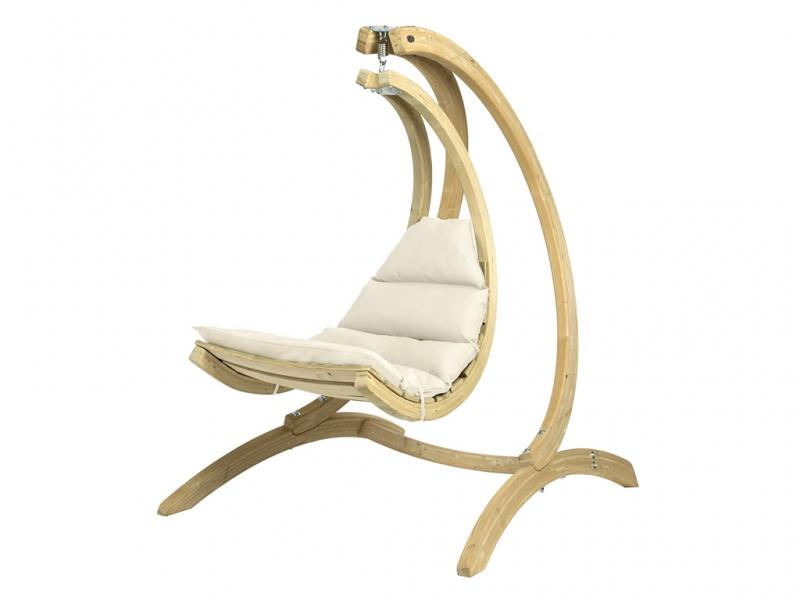 Stojak do fotela drewnianego